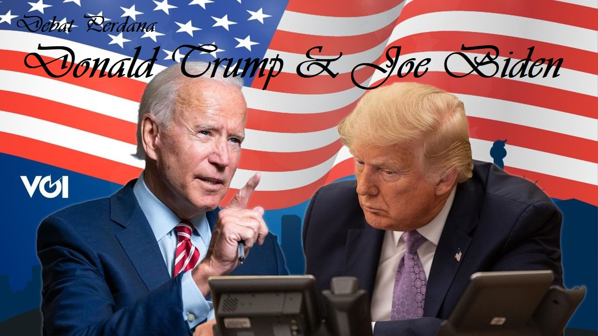 Debat Perdana Donald Trump & Joe Biden