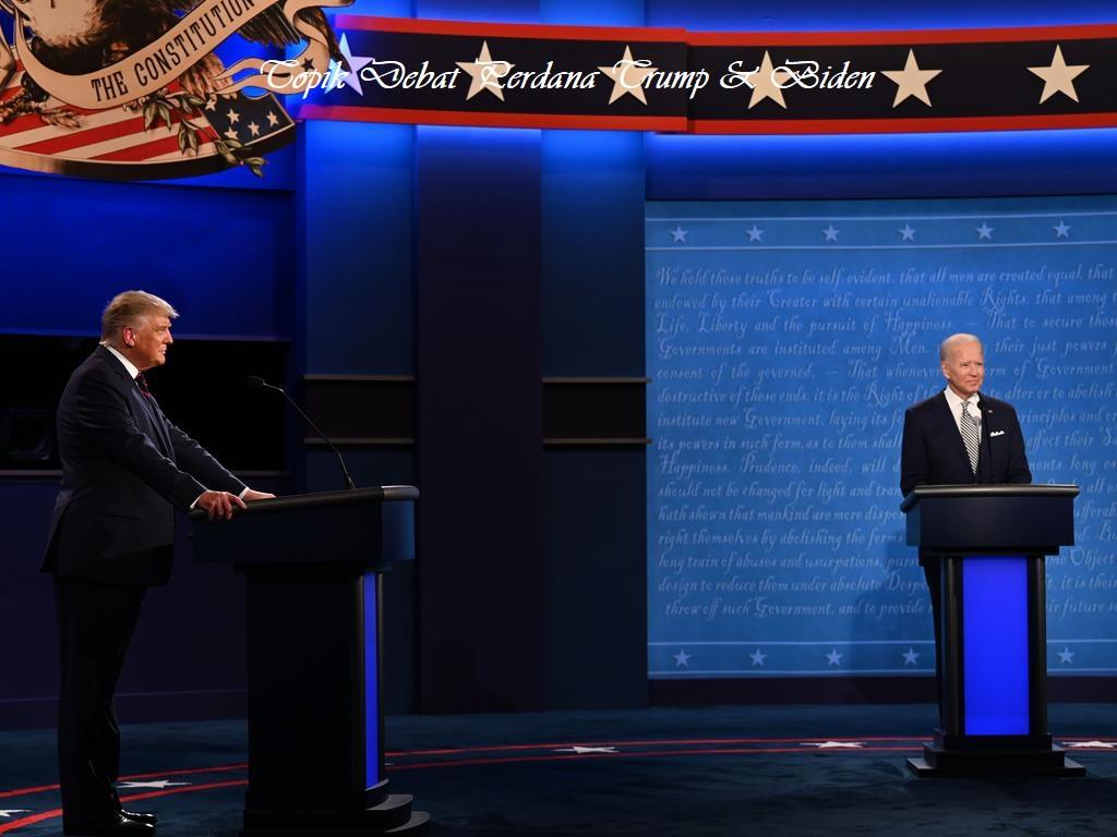 Topik Debat Perdana Trump & Biden